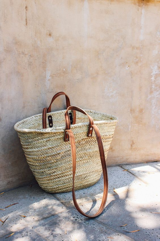 Moroccan Basket Bag - Taylor Ifland Photography - taylorkristiina.com