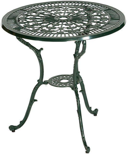 Gartenmobelset Lugano 3tlg 2 Sessel Tisch O 70 Cm Aluminium