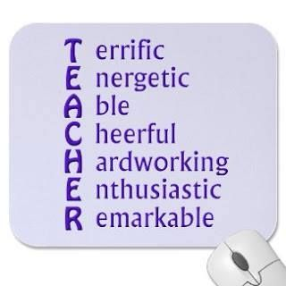 What the letters in the word 'teacher' stand for. | English ...