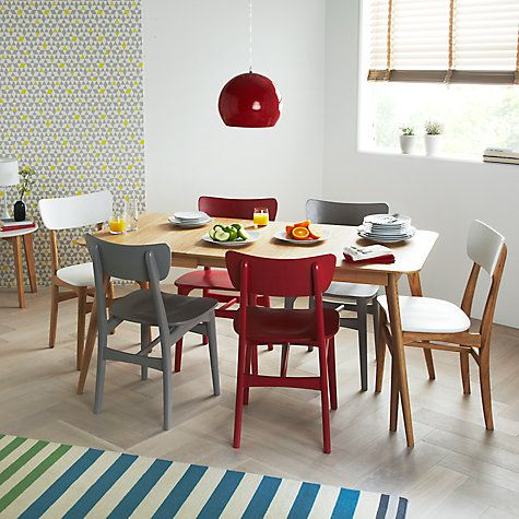 Buy House By John Lewis Lily Rectangular 6 Seater Dining Table Online At Johnlewis