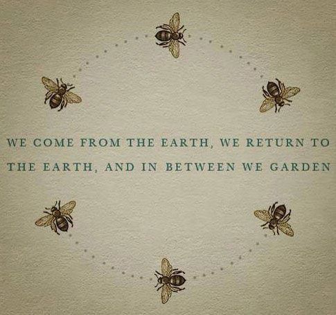 Granny would love this. Could oil paint a garden then paint this quote on top and give it to her on mothers day?!