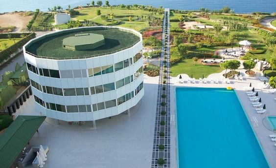 Marmara Antalya Hotel in Turkey - these rooms spin a full 360 degrees!