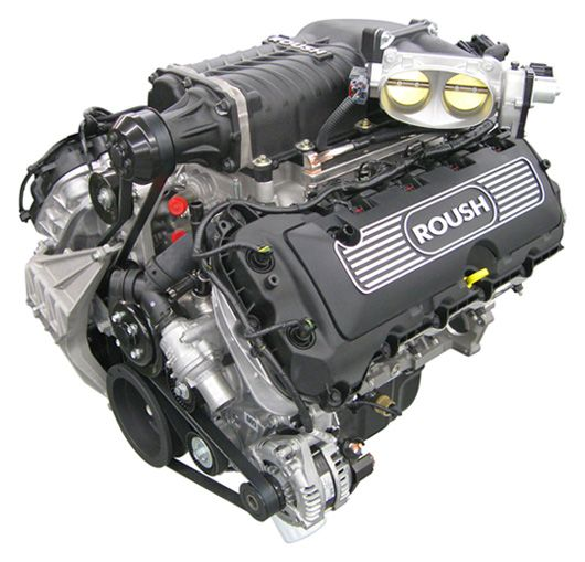 Roush 600 hp Supercharged Coyote 5.0 engine oder besser mercury 6.2 mit whipple supercharger? 700ps