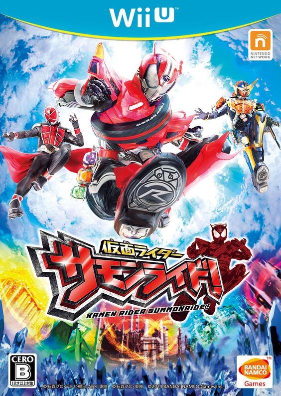 Kamen Rider: Summonride (Bandai), Wii U