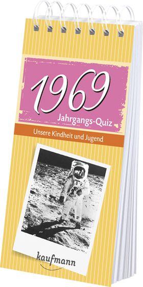 Jahrgangs Quiz 1969 Interessantes Geschenk Zum 50 Geburtstag