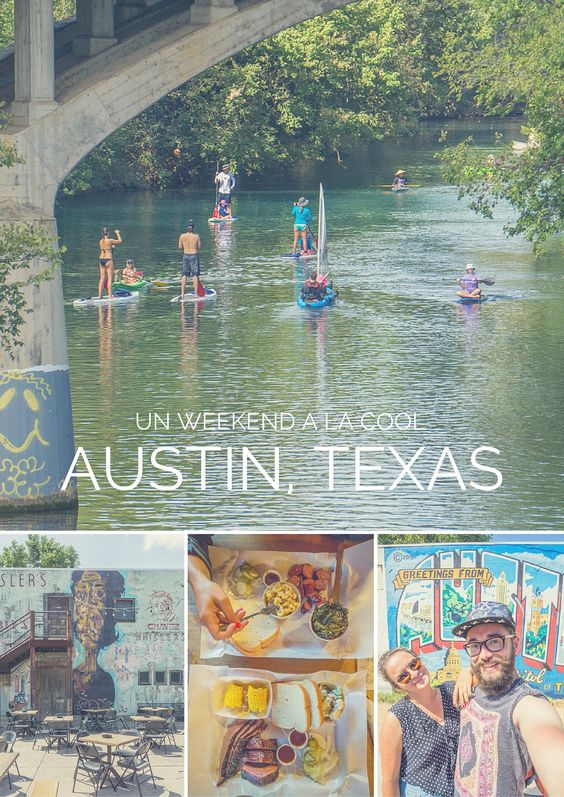 """Austin, la capitale du texas, a la réputation d'être """"weird"""", décalée, originale. J'y ai passé un weekend très tranquille : vélo, barbecue, et shopping dans une ville agréable."""