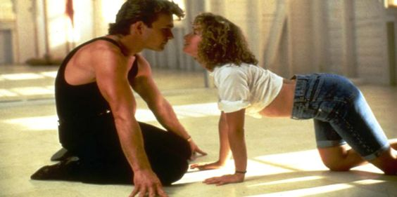 """Nobody puts baby in the corner."" #DirtyDancing"