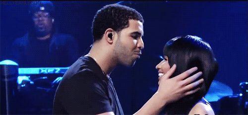 Drake, nicki minaj, and love image