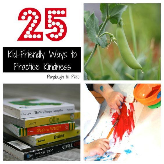 25 Kid-Friendly Ways to Practice Kindness