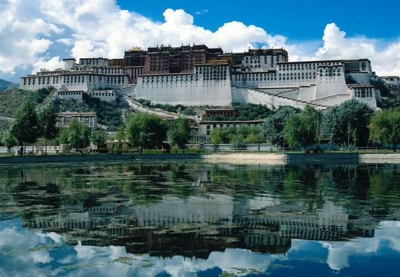The Majestic Potala Palace in Lhasa, Tibet