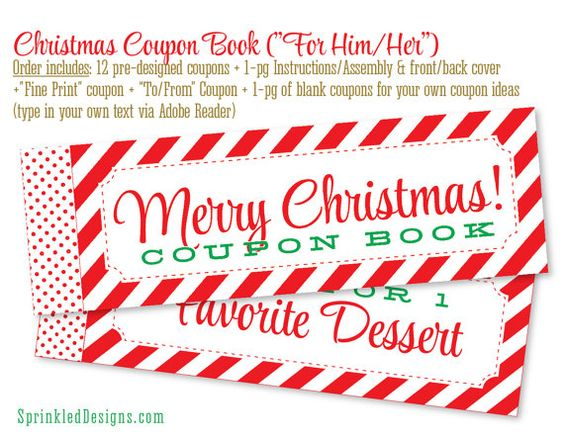 Instant download printable naughty love coupons by ReadyForParis - print your own voucher