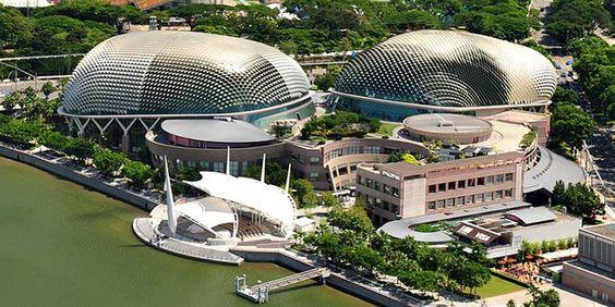 Nhà hát Esplanade sẽ có 2 mái vòm
