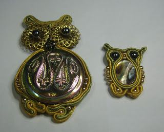 Shawkl: Soutache Owls: