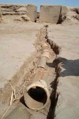 Foto: Fossielen van waterleidingen Onbekende oorsprong van pijpen - 180.000 jaar geleden vervaardigd. - Dagelijkse mysteries