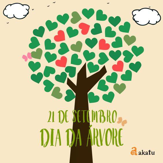 Hoje é o #DiaDaArvore! Precisamos mantê-las vivas para garantir água, ar e alimentos para a vida no planeta.