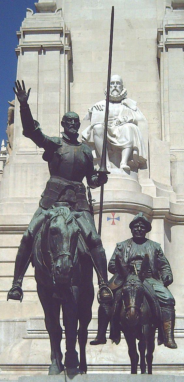 Monumento a Cervantes (Madrid) [Lorenzo Coullaut Valera]