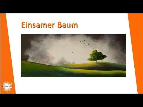 Malen Lernen Mit Acrylfarben Wasserspiegelungen Und Ein Holzsteg Landschaft Youtube Youtube Painting Tutorial Painting