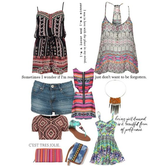 """Tribal Style"" by cat-e on Polyvore"