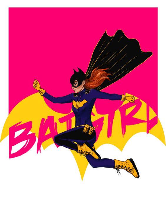 Batgirl Barbara Gordon Art Print- 4x6