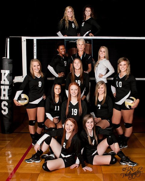 Volleyball- maybe we could get a nice picture this year? Put your seniors up top