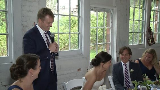 Funniest Best Man's Toast we have filmed in ages.