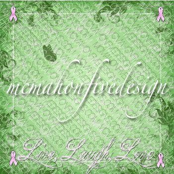 free breast cancer awareness digital scrapbook paper available for instant download