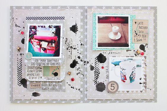 Janna Werner: DIY Memory Files - Scrapbooking, Mini Albums