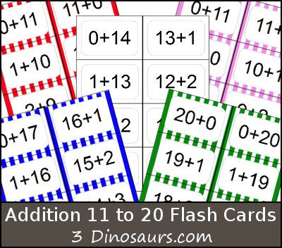 It's just a graphic of Versatile Printable Addition Flash Cards 0 20