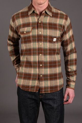 Max's Cotton Supply Franklin Flannel Button Up Shirt