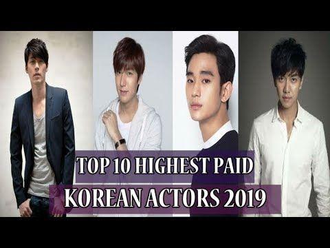 Top 10 Highest Paid Korean Actors 2019 Rich Korean Actors Updated Korean Actors Actors Korean