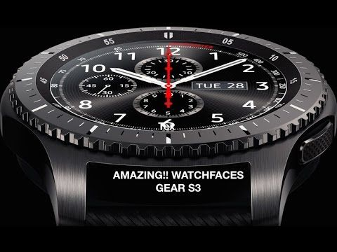 Ben noto Top 15 watch faces for Gear S3: Montblanc, Breitling, Invicta UT38