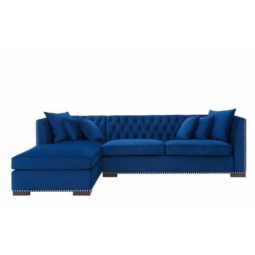 Melanie Corner Sofa Willa Arlo Interiors Orientation Left Hand Facing Corner Sofa Modular Corner Sofa Sofa