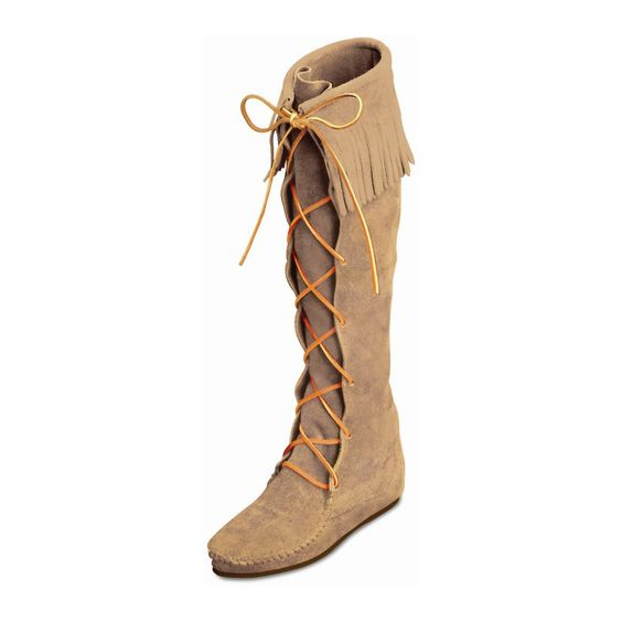 Knee Hi Moccasin Boots Moccasins And Women