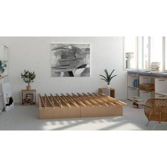 Tojo Bett V - größenverstellbares Bett - Designandmiles