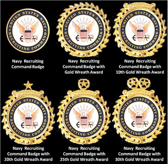 File:Basic Navy Recruiting Badges.png