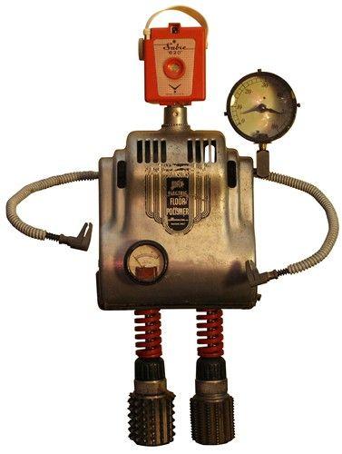 Custom Robot Clock