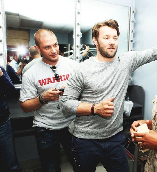 Tom Hardy, Joel Edgerton...BOTH HOT! Oh my...#Warrior