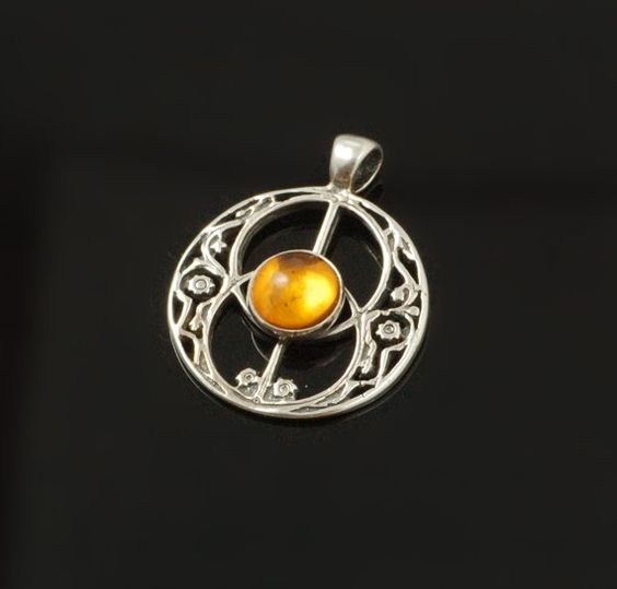 Mists of Avalon Pendant in Sterling Silver with by PaganTreasures, $49.00