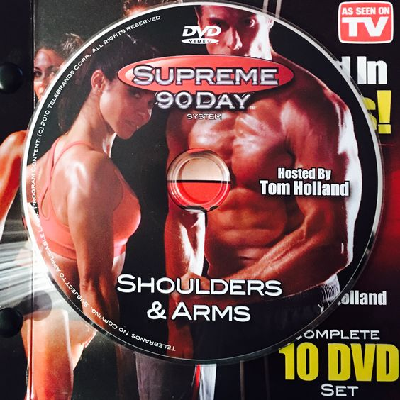 """SHOULDERS & ARMS.  **Supreme 90Day System, """"Get Ripped in 90Days!"""""""