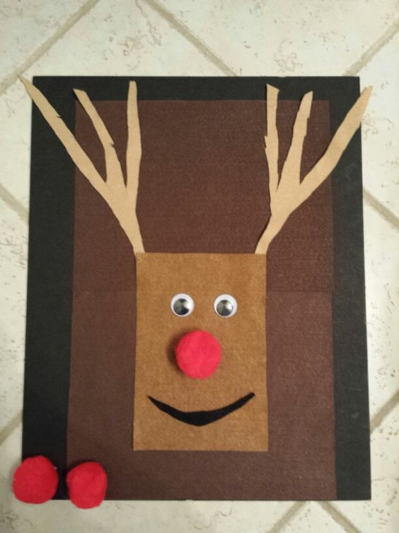 Pin the nose on Rudolph!   Christmas Projects   Pinterest   The o'jays ...