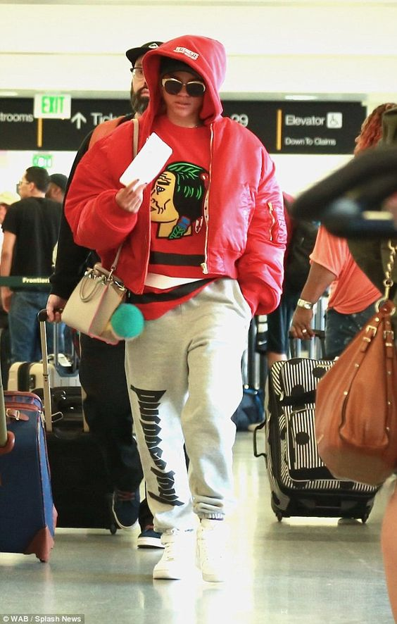 She likes the guy! Sofia Richie modeled Purpose sweatpants which were sold on beau Justin Bieber's tour. She was seen at LAX airport on Monday morning