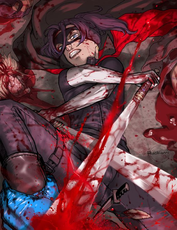Comic Aun Book Cover Illustration Ver : Hit girl comic ver by ricken art viantart on