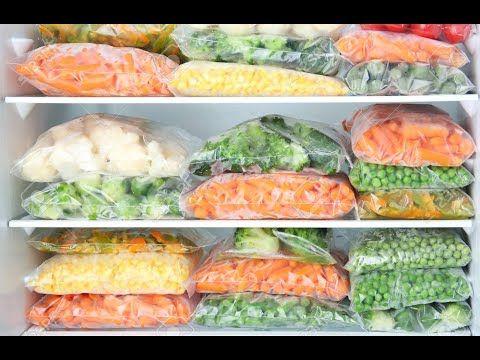 Como Congelar Verduras Y Descongelar Verduras Youtube Alimentos Congelados Verduras Verduras Congeladas