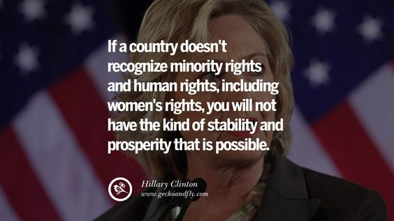 Pro Hillary Clinton Quotes | 32 Hillary Clinton Quotes On Gay Rights…