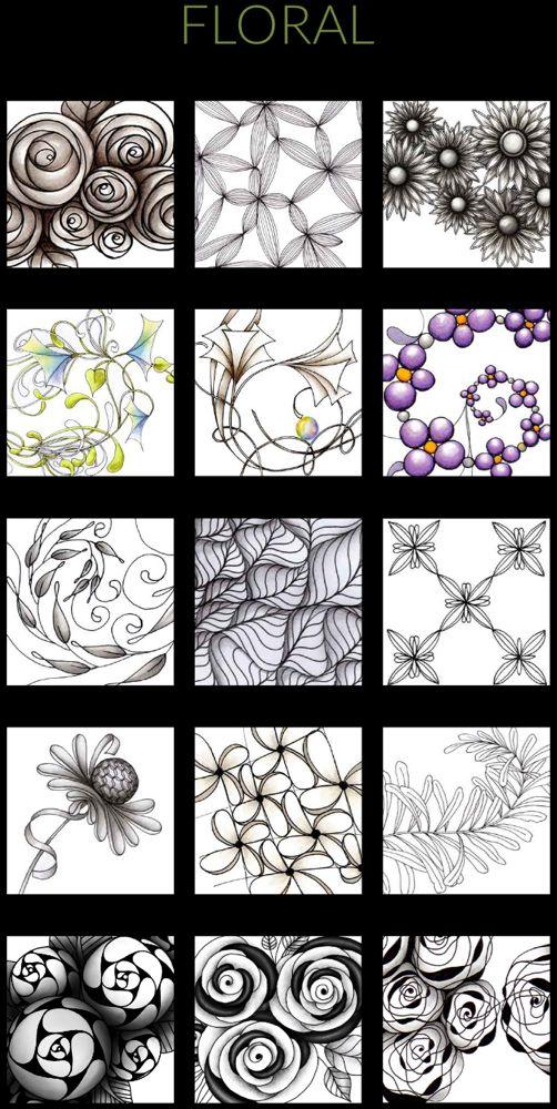 Patterns In 2020 Zentangle Patterns Pattern Tangle Patterns