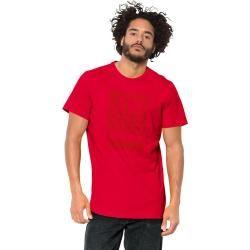 Jack Wolfskin T Shirt Männer 365 T Shirt Men S rot Jack