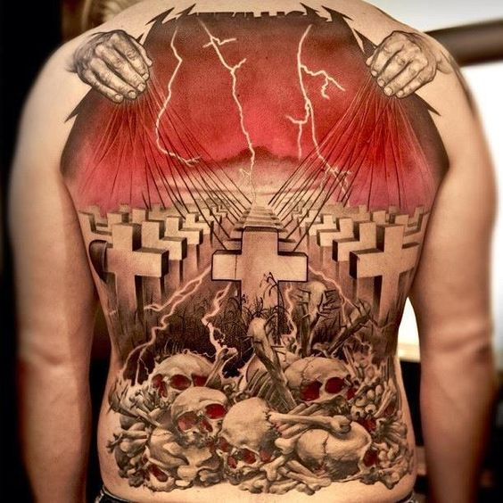 Bilderesultat for amazing metal tattoo