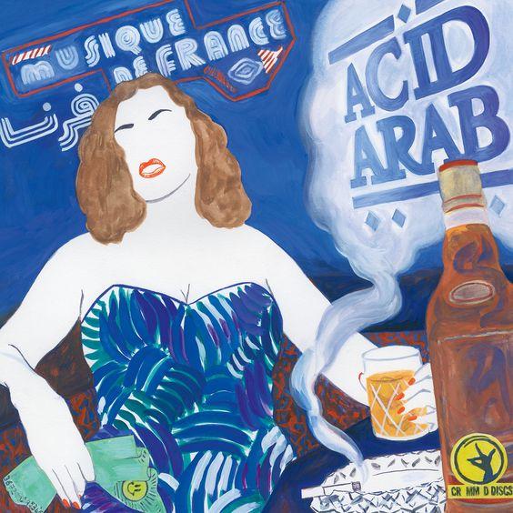 Portada Musique de france Acid Arab Cremmed Discs