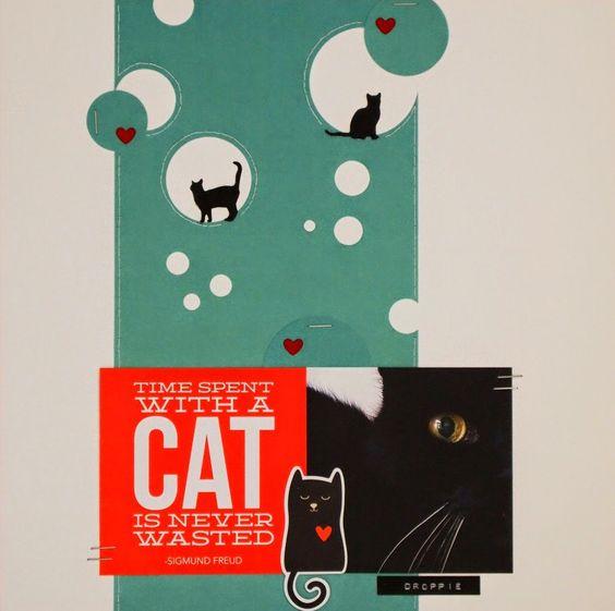 Cat - Scrapbook.com - Cat SN@P! Set