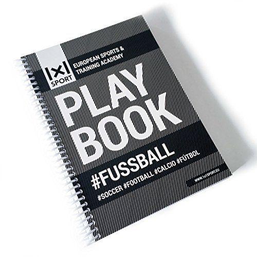 Das beliebte 1x1SPORT Playbook #FUSSBALL Din-A5 | Spielfe…
